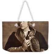 Holbein: Falconer, 1533 Weekender Tote Bag