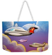 Hold On Tight Weekender Tote Bag by Cindy Thornton