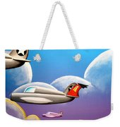 Hold On Tight Weekender Tote Bag