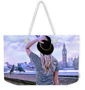 Hold Onto Your Hat Weekender Tote Bag