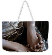 Holding Hands Weekender Tote Bag