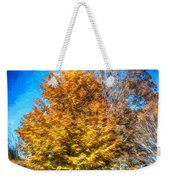 Holding On As Others Drop Weekender Tote Bag