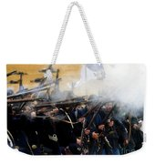 Holding The Line At Gettysburg Weekender Tote Bag