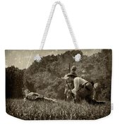 Holding The Line Weekender Tote Bag