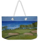 Hole 17 - Wailua Golf Course On Kauai Weekender Tote Bag