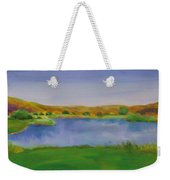 Hole 3 Fade Away Weekender Tote Bag