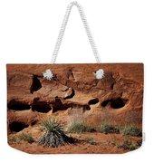 Holes - Yucca - Kodachrome Basin Weekender Tote Bag
