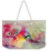 Holi-colorbubbles Abstract Weekender Tote Bag