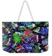 Holiday Abstract  Weekender Tote Bag