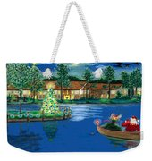 Holiday Delivery At Whisper Lake  Weekender Tote Bag