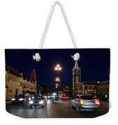 Holiday In Motion On The Plaza Weekender Tote Bag