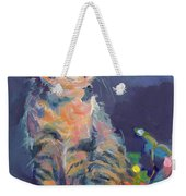 Holiday Lights Weekender Tote Bag by Kimberly Santini