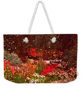Holiday Mosaic Weekender Tote Bag