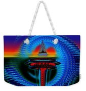 Holiday Needle Illusion Weekender Tote Bag