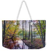 Holiday Park Lake At Dusk Weekender Tote Bag