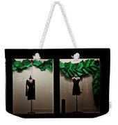 Holiday Window Fashion Weekender Tote Bag