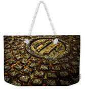 Holland Tunnel Manhole Weekender Tote Bag