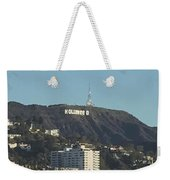 Hollyweed Sign Weekender Tote Bag