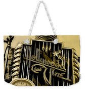 Hollywood And Vine Street Sign Collection Weekender Tote Bag