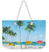 Hollywood Beach Florida And Coconut Palms Weekender Tote Bag