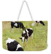 Holstein Cattle Weekender Tote Bag