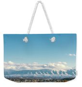 Holston Mountain Over Bristol Va/tn Weekender Tote Bag