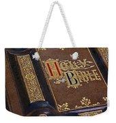 Holy Bible Weekender Tote Bag
