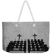 Holy Candles.... Weekender Tote Bag