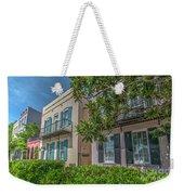 Holy City Rainbow Row Weekender Tote Bag