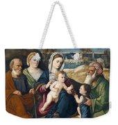 Holy Conversation Weekender Tote Bag