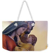 Holy Family Statue Weekender Tote Bag