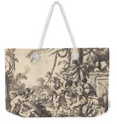 Holy Family With Putti Weekender Tote Bag