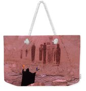 Holy Ghost Petroglyph Into The Mystic Weekender Tote Bag