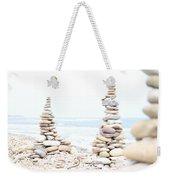 Holy Island Pebbles Weekender Tote Bag