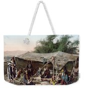 Holy Land: Bedouin Camp Weekender Tote Bag
