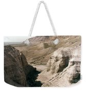 Holy Land: Qumran Caves Weekender Tote Bag