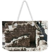 Holy Land: Qumran Ruins Weekender Tote Bag