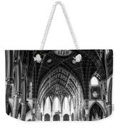 Holy Name Cathedral Chicago Bw 04 Weekender Tote Bag