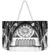 Holy Name Cathedral Chicago Bw 06 Weekender Tote Bag