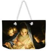 Holy Night Weekender Tote Bag
