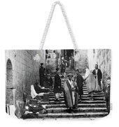 Holy Sepulchre Stairs Weekender Tote Bag