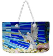 Holy Spirit Dove Weekender Tote Bag