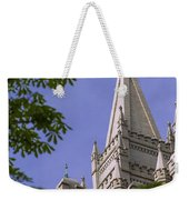 Holy Temple Weekender Tote Bag by Chad Dutson