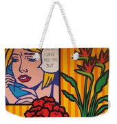 Homage To Lichtenstein And Wesselmann Weekender Tote Bag