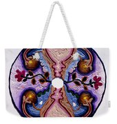 Homage To The Uterus - Portal Of The Universe Weekender Tote Bag