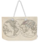 Homalographic World Map  Weekender Tote Bag