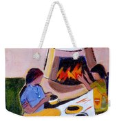 Home And Hearth In Taos Weekender Tote Bag