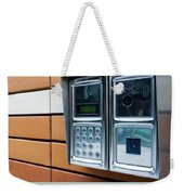 Home Intercom System Weekender Tote Bag