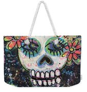 Home Is Wherever I Am With You An Abstract Skull Painting About Love Weekender Tote Bag