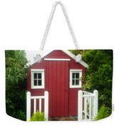 Home Made Shed Weekender Tote Bag
